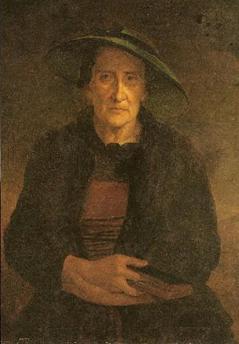 Antoine Pesne, Alte Salzburgerin, Öl auf Leinwand/ Oil on canvas, 1732/33, Braunschweig, Herzog Anton Ulrich-Museum