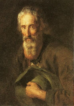 Antoine Pesne, Alter bärtiger Salburger, Öl auf Leinwand / Oil on canvas, 1732/33, Braunschweig, Herzog Anton Ulrich-Museum