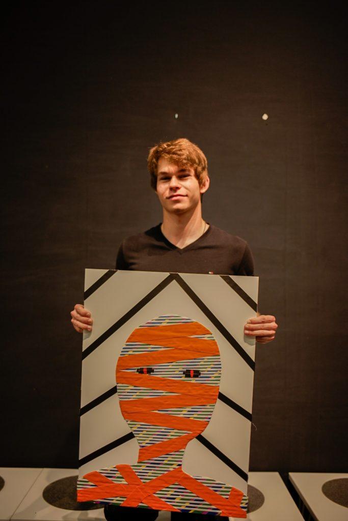 Niels, 17: Die Mumie
